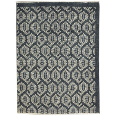 """One of a Kind Hand-Knotted Persian 3' x 5' Oriental Wool Black Rug - 3'0""""x4'0"""""""