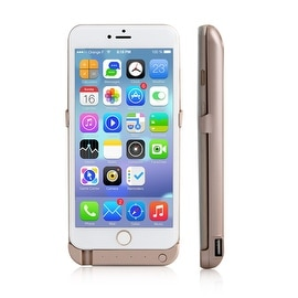 Indigi® 10000mAh PowerCase GOLD Rechargeable Battery Case iPhone 6/6S