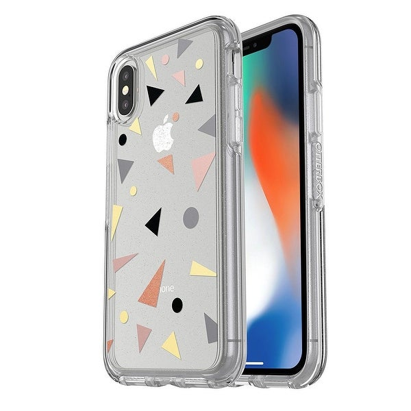 premium selection 60900 9f6ac Confetti POP OtterBox Symmetry Series Clear Graphics Case For iPhone X