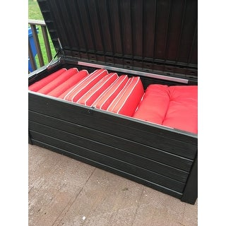 Shop Keter Westwood 150 Gallon Plastic Storage Deck Box
