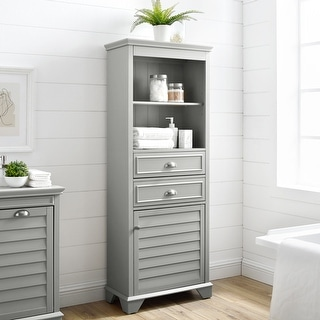 """Link to Lydia Tall Cabinet - 23.5""""W x 11.63""""D x 60.13""""H Similar Items in Bathroom Cabinets"""