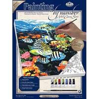 "Ocean Deep - Paint By Number Kit Artist Canvas Series 9""X12"""