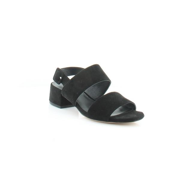 Vince. Taye Women's Sandals Black - 6.5