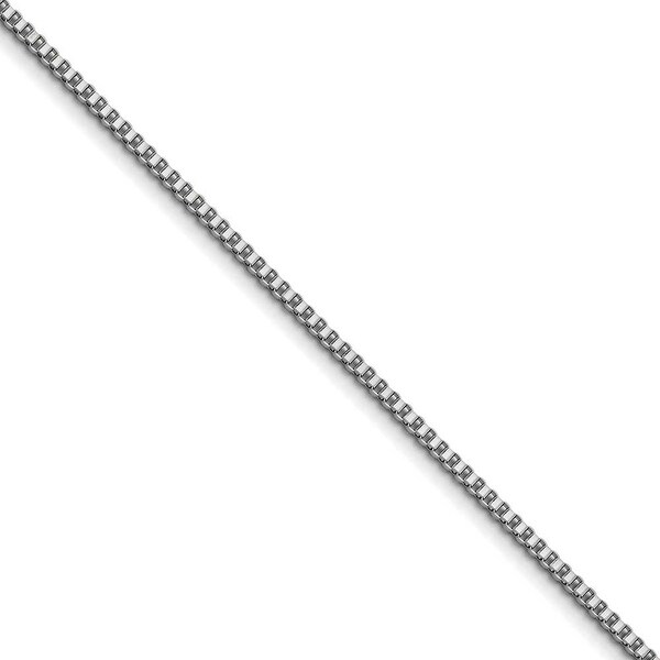 Chisel Stainless Steel 3.2mm 20 Inch Box Chain (3.2 mm) - 20 in