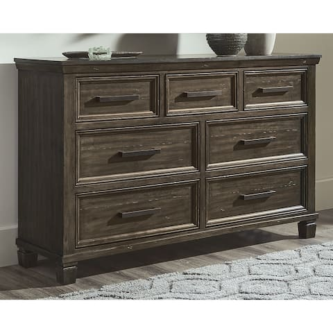 Johurst Grayish Brown Dresser