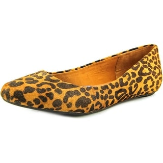 Dr. Scholl's Really Women Pointed Toe Suede Brown Flats