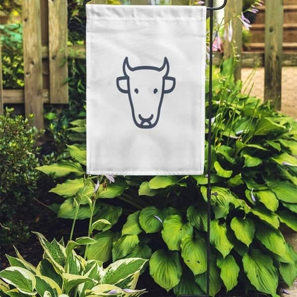 Shop Livestock Cattle Cow Front View Farm Linear Sign Stroke Garden Flag Decorative Flag House Banner 12x18 Inch On Sale Overstock 31391989