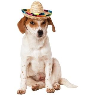 Rubies Multicolor Pet Sombrero