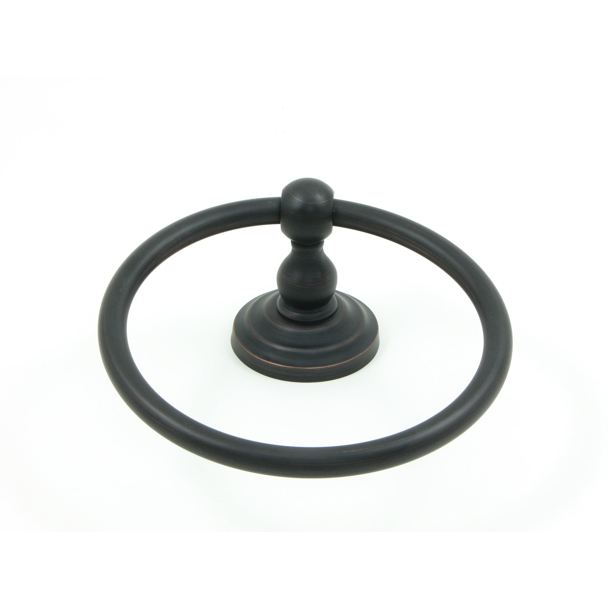 Stone Mill Hardware Oil Rubbed Bronze Scottsdale Towel Ring Brown Overstock 21981733