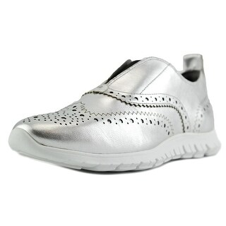 Cole Haan Zerogrand Slpon Wing Round Toe Leather Sneakers