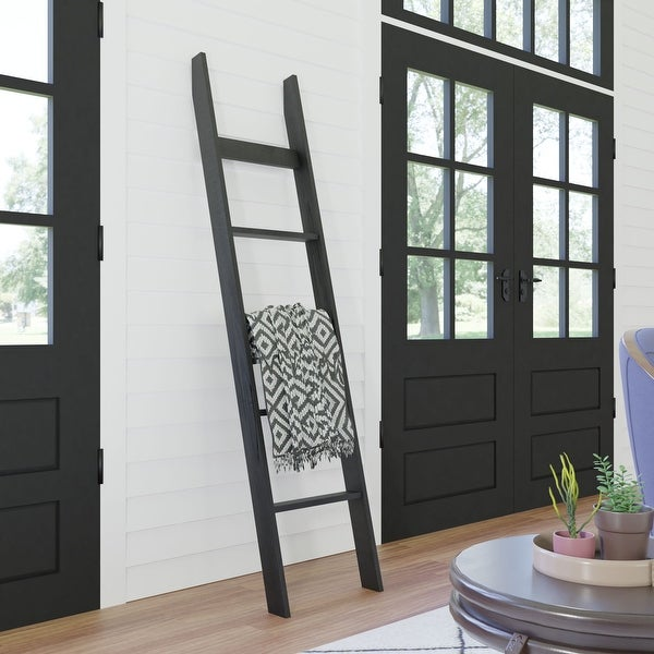 6ft Country Chic Blanket Ladder - Modern Farmhouse. Opens flyout.