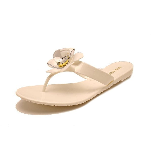 Nine West Frizzell Open Toe Synthetic Flip Flop Sandal