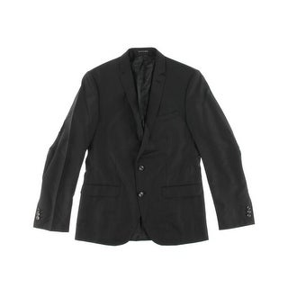Zara Mens Wool Blend Classic Fit Two-Button Suit Jacket - 52