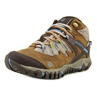 Merrell All Out Blaze Mid Round Toe Synthetic Hiking Shoe