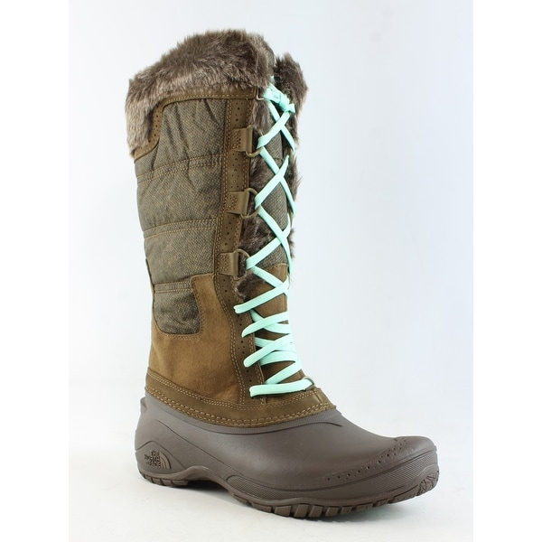 4a3502833 Shop North Face Womens Shellista Ii Tall Brown Snow Boots Size 8.5 ...