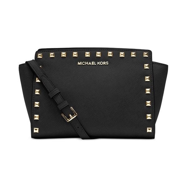 Shop MICHAEL Michael Kors Selma Stud Medium Leather