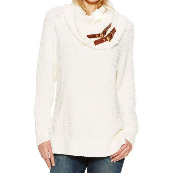 MICHAEL Michael Kors Womens Tunic Sweater Knit Long Sleeves