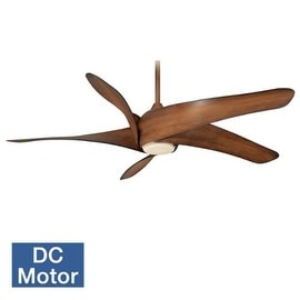 minkaaire artemis 62 5 blade 62 artemis xl5 indoor ceiling fan with blades and light ceiling fan