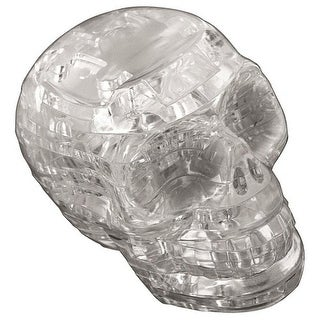 Original 3D Crystal Puzzle - Skull Clear