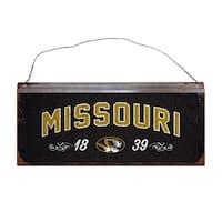 University of Missouri Small Tin Sign