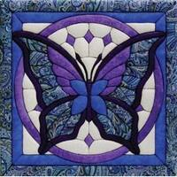"""12""""X12"""" - Butterfly Quilt Magic Kit"""