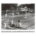 ''Swimming Pool, August 28, 1958, Welch, West Virginia'' by O. Winston Link Transportation Art Print (27.5 x 31.5 in.) - Thumbnail 0