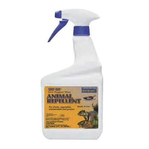 Bonide 127 Hot Pepper Wax Animal Repellent, 1 Quart