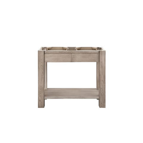 "Brooklyn 39.5"" Wooden Sink Console, No Sink/Countertop"