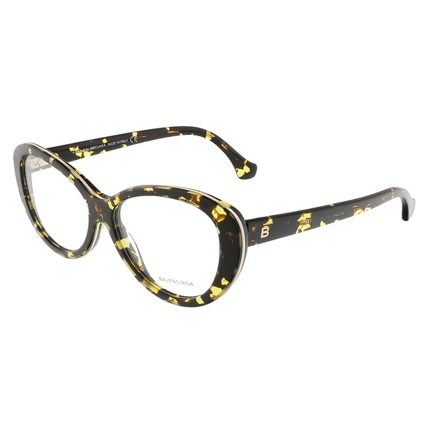 Balenciaga BA5044/V 055 Colorful Havana Butterfly prescription-eyewear-frames - colorful havana - 54-14-140