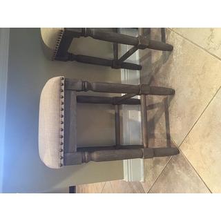 Renate Linen Counter Stools Set Of 2 15072614