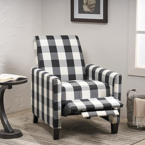 Foxhill Contemporary Push Back Recliner by Christopher Knight Home