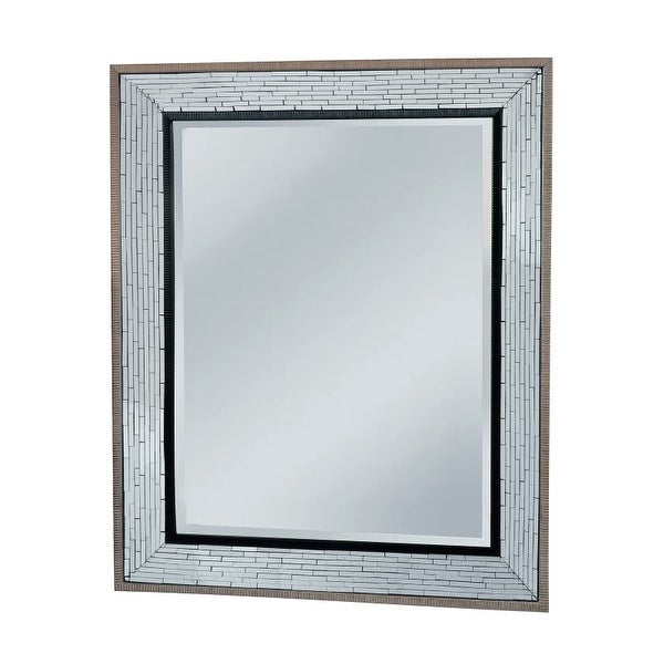 """Mirror Masters MG4510 Fredmont 40"""" Rectangular Mirror with Decorative Frame - N/A"""