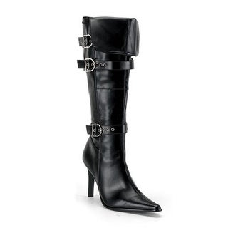 Pleaser Sexy Pirate's Booty Adult Boots - Black