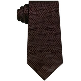Link to Michael Kors Mens Plaid Self-Tied Necktie - One Size Similar Items in Ties