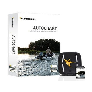 Humminbird AutoChart DVD Computer Mapping Software with Zero Lines Map 600031-1