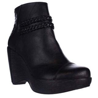 JBU by Jambu Jambu Wedge Ankle Boots - Black
