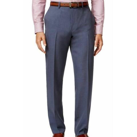 ALFANI Mens Blue Slim Fit Chino Pants W36/ L29 - W36/ L29