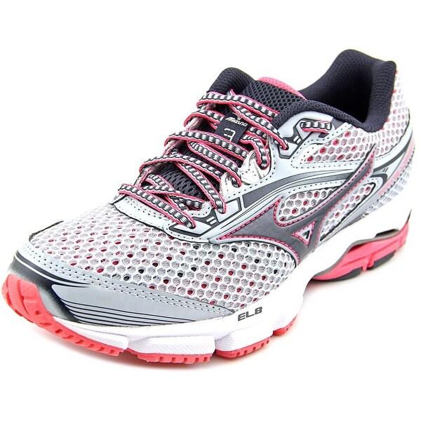 Mizuno Wave Legend 3 Women  Round Toe Synthetic Gray Running Shoe