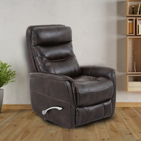 Colby Faux Leather Manual OR Power Swivel Recliner