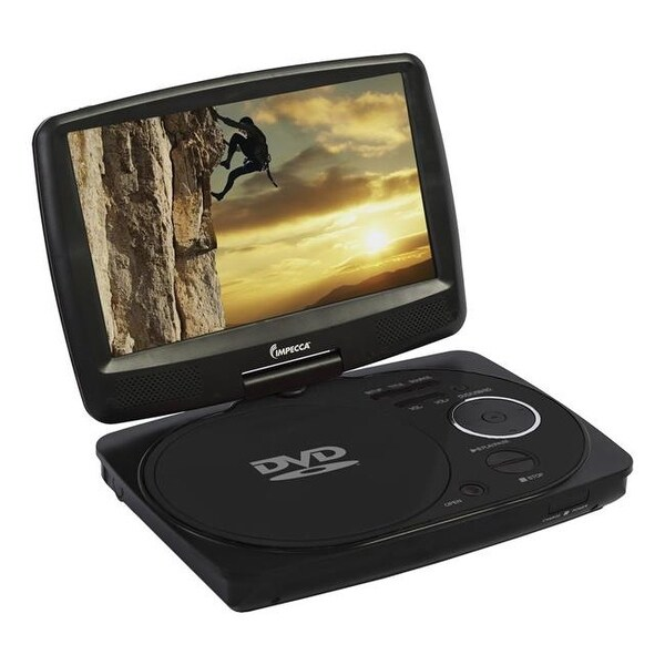 Impecca DVP916K 9 in. Portable DVD Player - Black
