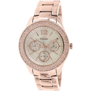 Fossil Women's Stella ES3590 Rose-Gold Stainless-Steel Quartz Fashion Watch