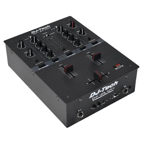 High Performance 2-Channel Dj Scratch Mixer W/Contactless Innofader