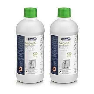 """""""Genuine Coffee Cleaner for Delonghi 5513296041 / Eco Descaling Solution (2-Pack) Genuine Coffee Cleaner"""""""