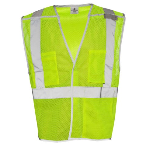 Brilliant Series Economy Breakaway Visibility Vest