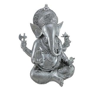 Handmade Large Stone Elephant Ganesha Statue Indonesia