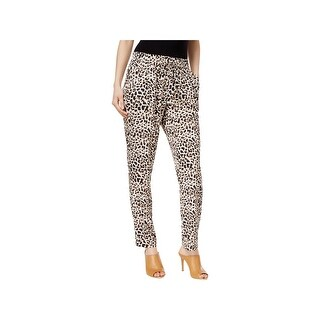 Calvin Klein Womens Casual Pants Printed Drawstring