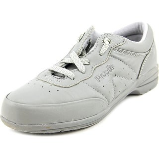 Propet Washable Walker 2A Round Toe Leather Walking Shoe