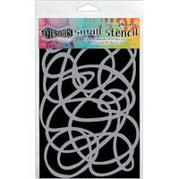 """Dyan Reaveley's Dylusions Stencils 5""""X8""""-Squiggle"""