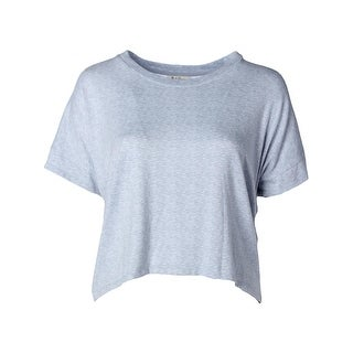 Nuit Rouge Womens Sleep Shirt Short Sleeve Knit