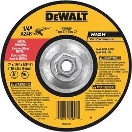 DeWalt 7X1/4X5/8-11 Grind Wheel